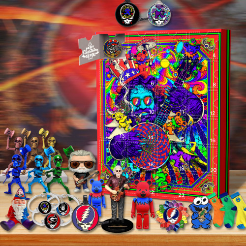 Grateful Dead Advent Calendar 2021-- The One With 24 Little Doors