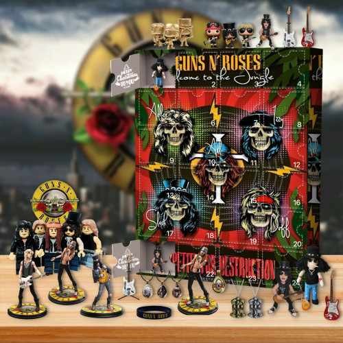 2021 Guns N' Roses Advent Calendar - The One With 24 Little Doors