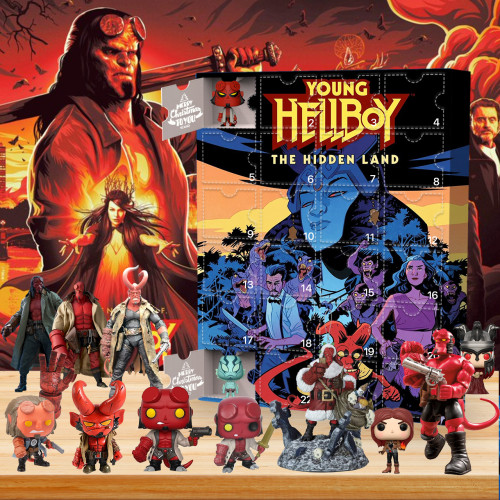 2021 Hellboy Advent Calendar - The One With 24 Little Doors