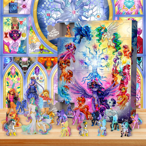 2021 My Little Pony Advent Calendar -- The One With 24 Little Doors