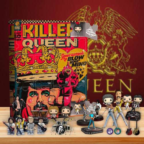 2021 Queen Advent Calendar - The One With 24 Little Doors