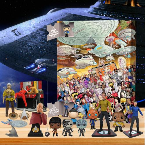 2021 Star Trek Advent Calendar - The One With 24 Little Doors