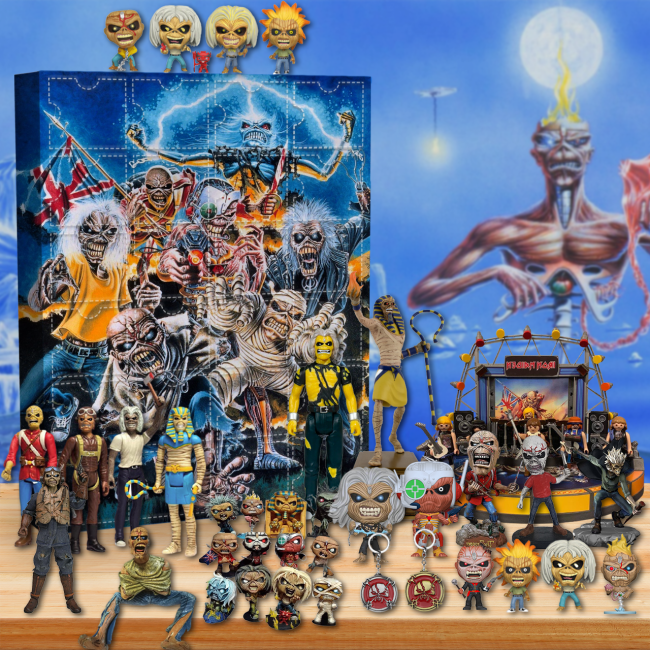 Iron Maiden Advent Calendar 2021-- The One With 24 Little Doors