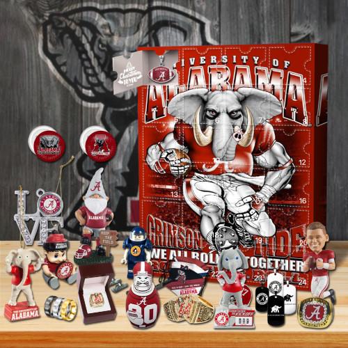 Alabama Crimson Tide football Advent Calendar-- The One With 24 Little Doors