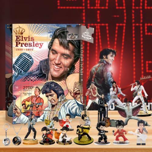 Elvis Advent Calendar 2021-- The One With 24 Little Doors