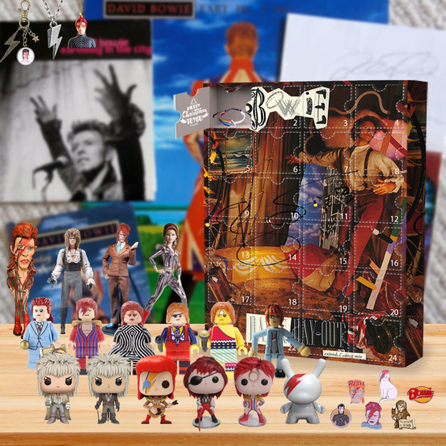 David Bowie Advent Calendar🎁24 Gifts Are In It