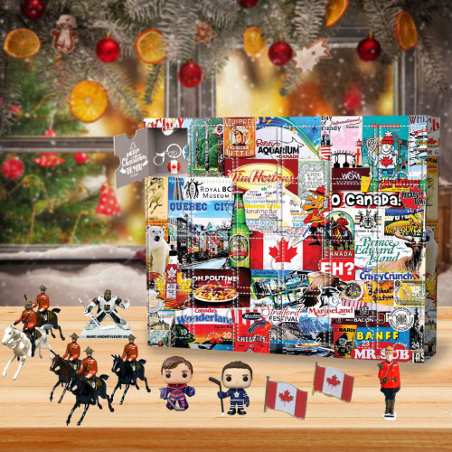 I love canada Advent Calendar -The One With 24 Little Doors