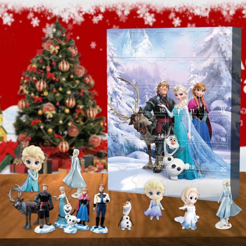 Frozen Advent Calendar-- The One With 24 Little Doors