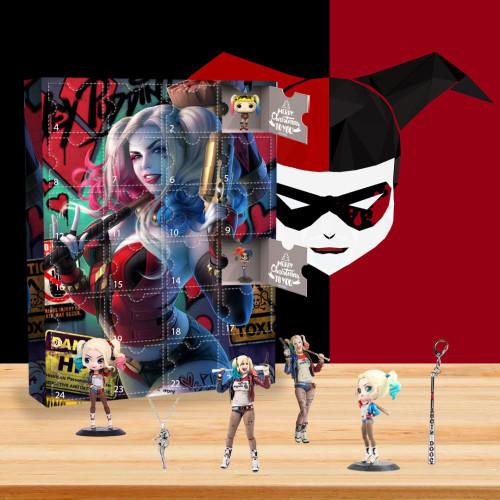 Harley Quinn Advent Calendar-- The One With 24 Little Doors