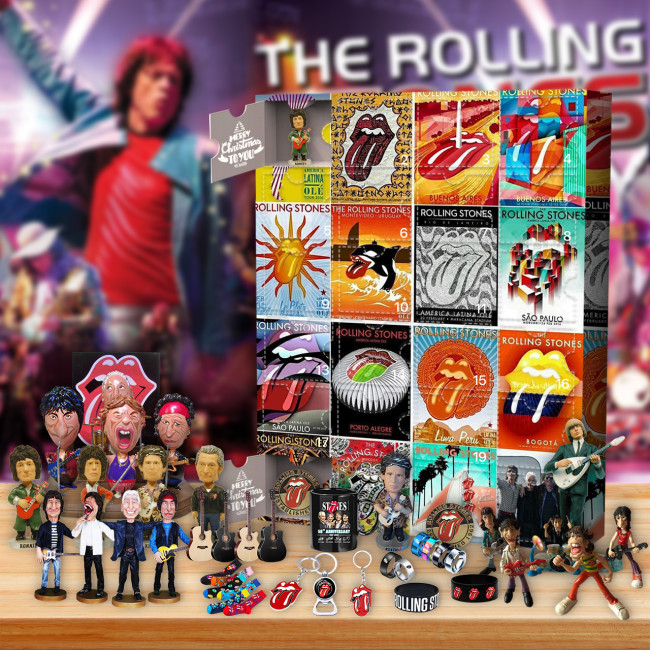 The Rolling Stones Advent Calendar 2021--The One With 24 Little Doors