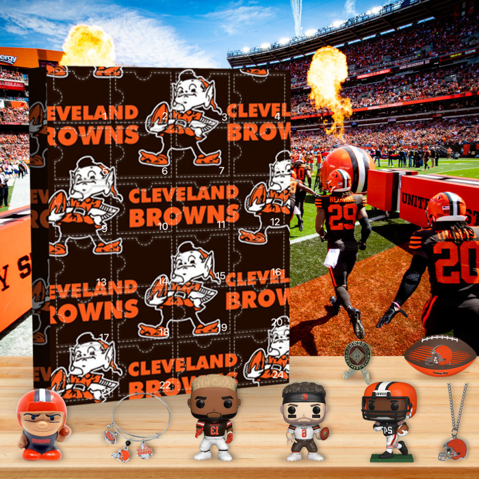 Cleveland Browns Advent Calendar🎁24 Gifts Are In It