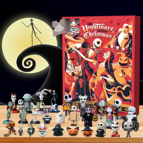 The Nightmare Before Christmas Advent Calendar -🎁The One With 24 Little Doors
