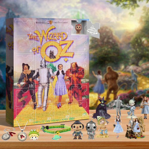 The Wizard of Oz Advent Calendar-- The One With 24 Little Doors