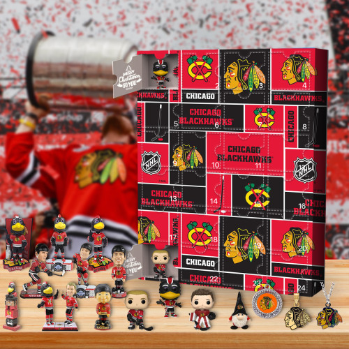Chicago Blackhawks Advent Calendar -🎁The One With 24 Little Doors