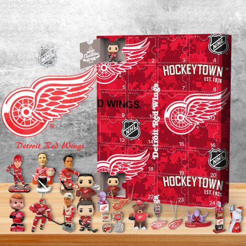 Detroit Red Wings Advent Calendar -🎁The One With 24 Little Doors