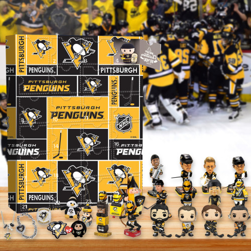 Pittsburgh Penguins Advent Calendar -🎁The One With 24 Little Doors
