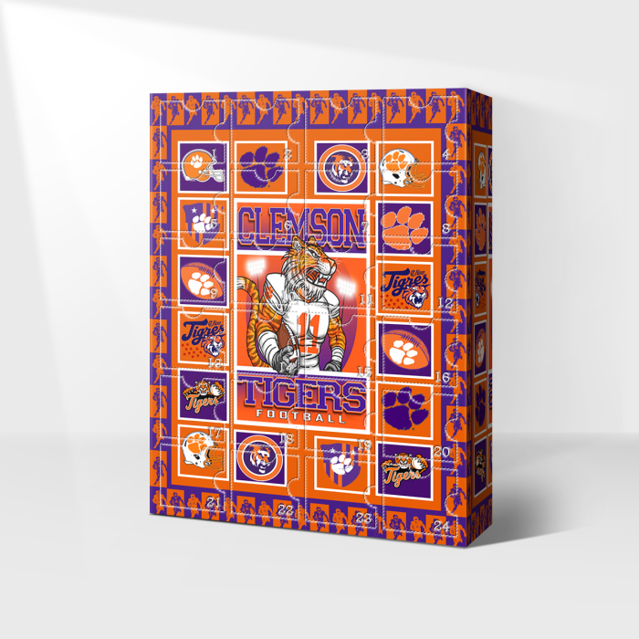 Clemson Tigers Advent Calendar 2021-- 🎁The One With 24 Little Doors
