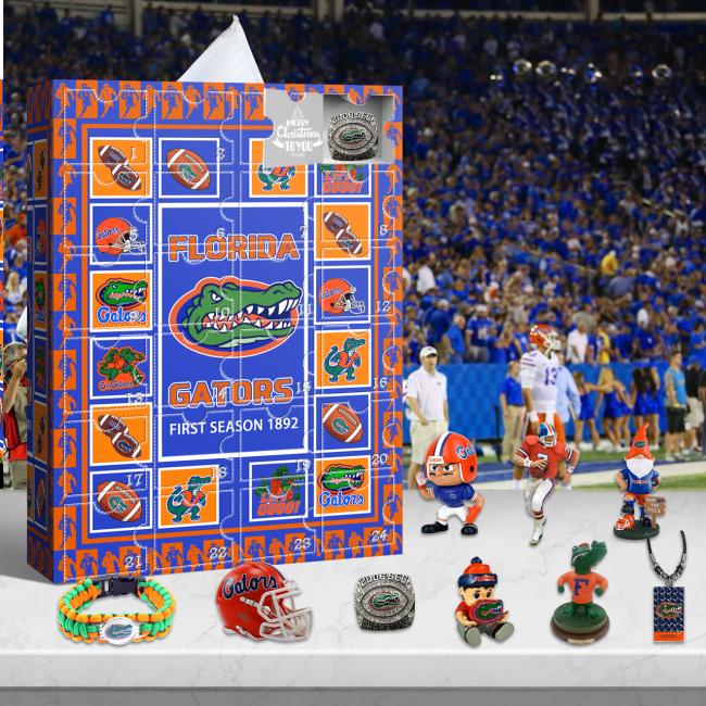 Florida Gators Advent Calendar 2021-- The One With 24 Little Doors