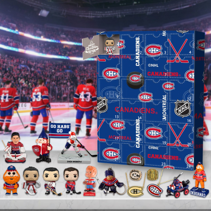 Montreal Canadiens Advent Calendar -🎁The One With 24 Little Doors