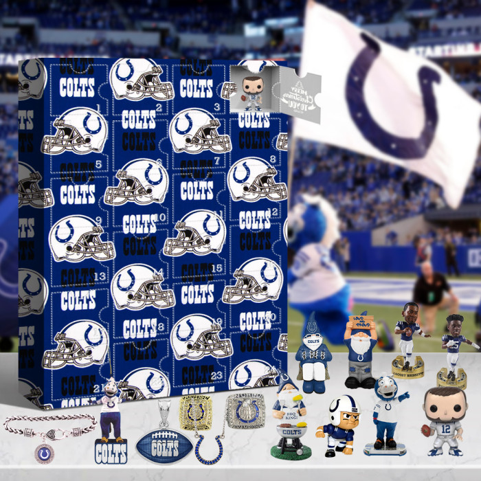 Indianapolis Colts Advent Calendar -🎁The One With 24 Little Doors
