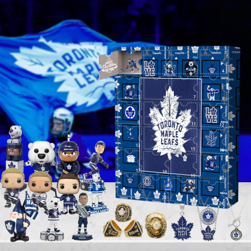 Toronto Maple Leafs Advent Calendar -🎁The One With 24 Little Doors