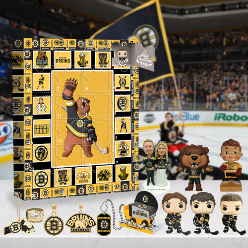 Boston Bruins Advent Calendar -🎁The One With 24 Little Doors