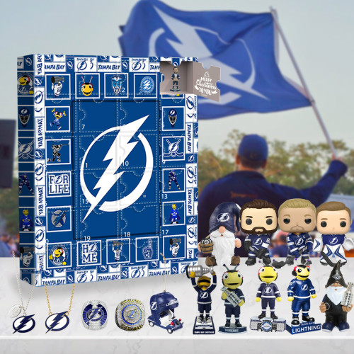Tampa Bay Lightning Advent Calendar -🎁The One With 24 Little Doors