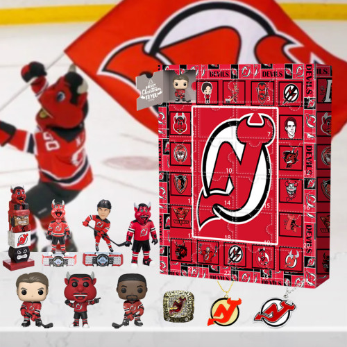 New Jersey Devils Advent Calendar -🎁The One With 24 Little Doors