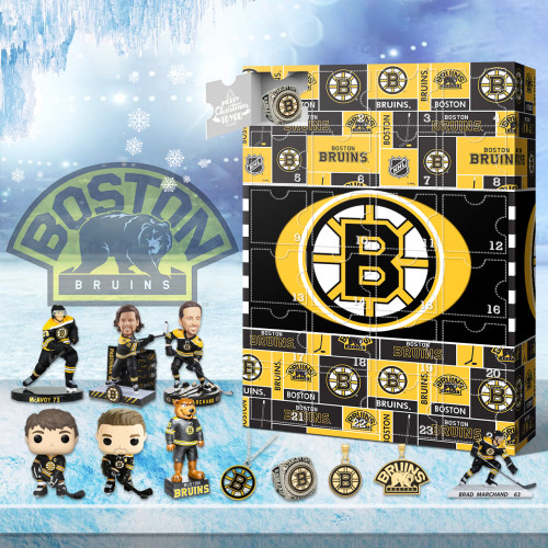 Boston Bruins Advent Calendar 2021-- The One With 24 Little Doors