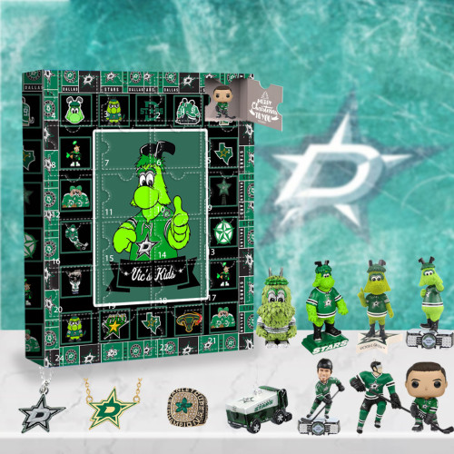 Dallas Stars Advent Calendar -🎁The One With 24 Little Doors