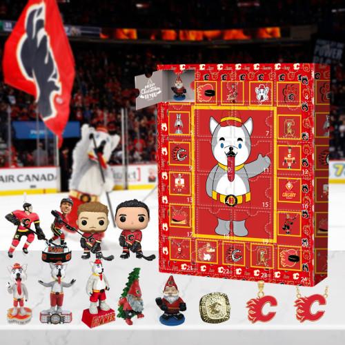 Calgary Flames Advent Calendar -🎁The One With 24 Little Doors