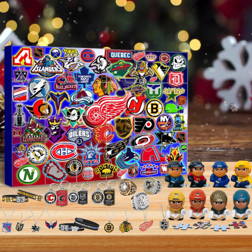 NHL Advent Calendar🎁24 Gifts Are In It
