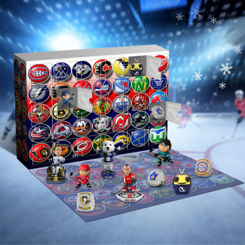 NHL Advent Calendar 2021-- The One With 24 Little Doors