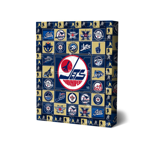 Winnipeg Jets Advent Calendar🎁24 Gifts Are In It