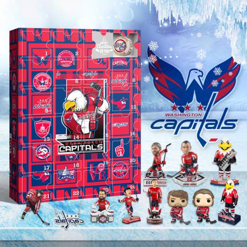 Washington Capitals Advent Calendar 2021-- The One With 24 Little Doors