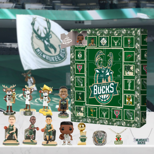 Milwaukee Bucks Advent Calendar -🎁The One With 24 Little Doors