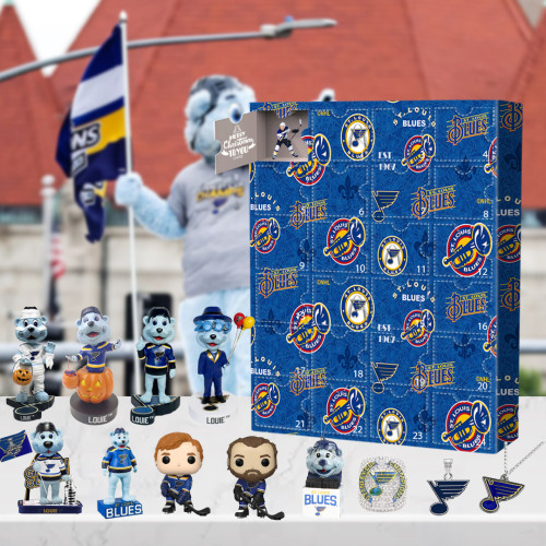 St. Louis Blues Advent Calendar -🎁The One With 24 Little Doors