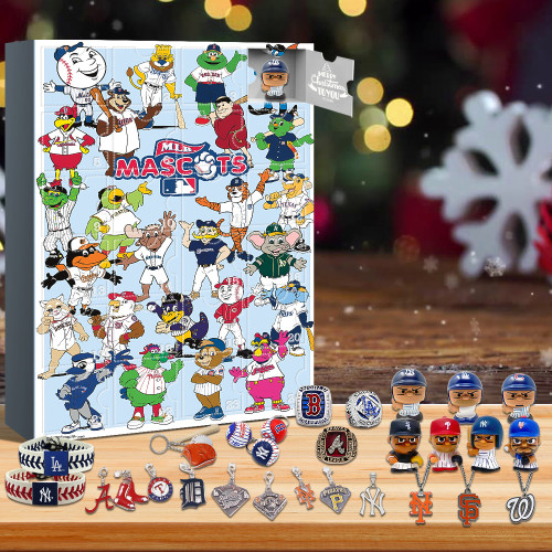 MLB Advent Calendar🎁24 Gifts Are In It