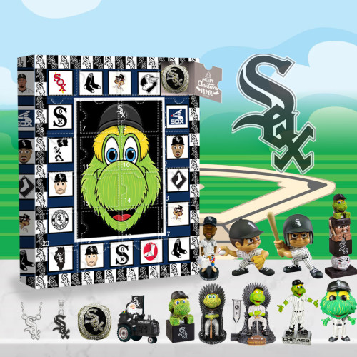 Chicago White Sox Advent Calendar -🎁The One With 24 Little Doors