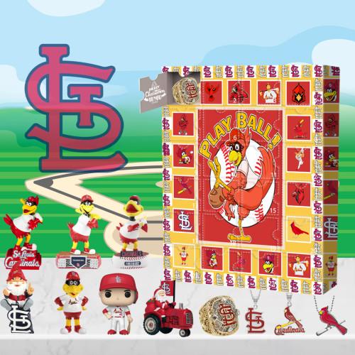 Saint Louis Cardinals Advent Calendar -🎁The One With 24 Little Doors