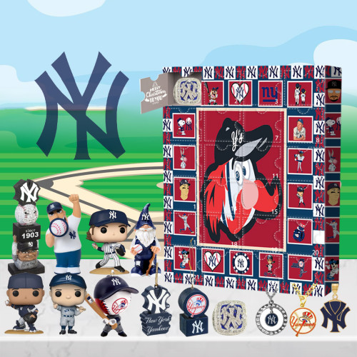 New York Yankees Advent Calendar -🎁The One With 24 Little Doors