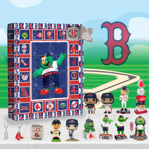 Boston Red Sox Advent Calendar -🎁The One With 24 Little Doors