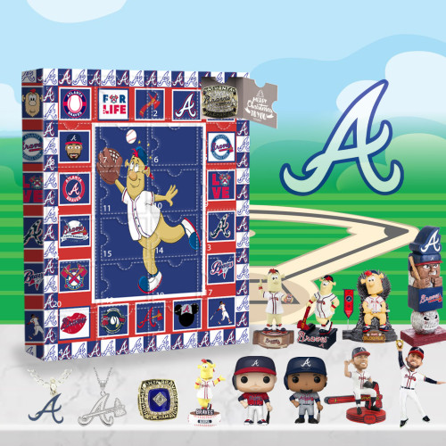Atlanta Braves Advent Calendar -🎁The One With 24 Little Doors