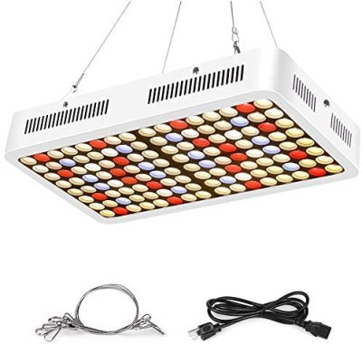 Roleadro LED Grow Light 600W, 4th Generation Series Grow Lights Compatible with Samsung LM301H Diodes 3500K Grow Lights Full Spectrum for Indoor Plants Seeding Veg Flower Growing Lamp