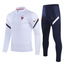 2020/21 France White Sweater Tracksuit