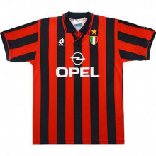 1996/1997 AC Milan Home Retro Soccer Jersey