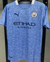 2020/21 Man City 1:1 Quality Home Fans Soccer Jersey