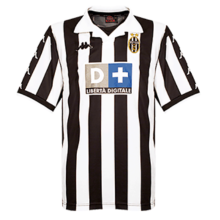 1999-2000 JUV Home Retro Fans Soccer Jersey