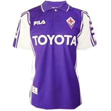 1999-00 Fiorentina Home Retro Soccer Jersey