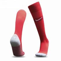 2020 Euro France Red Soccer Sock